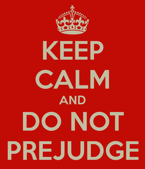 Business success: don't pre judge!