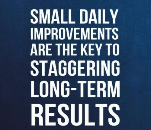 Small Daily Improvements