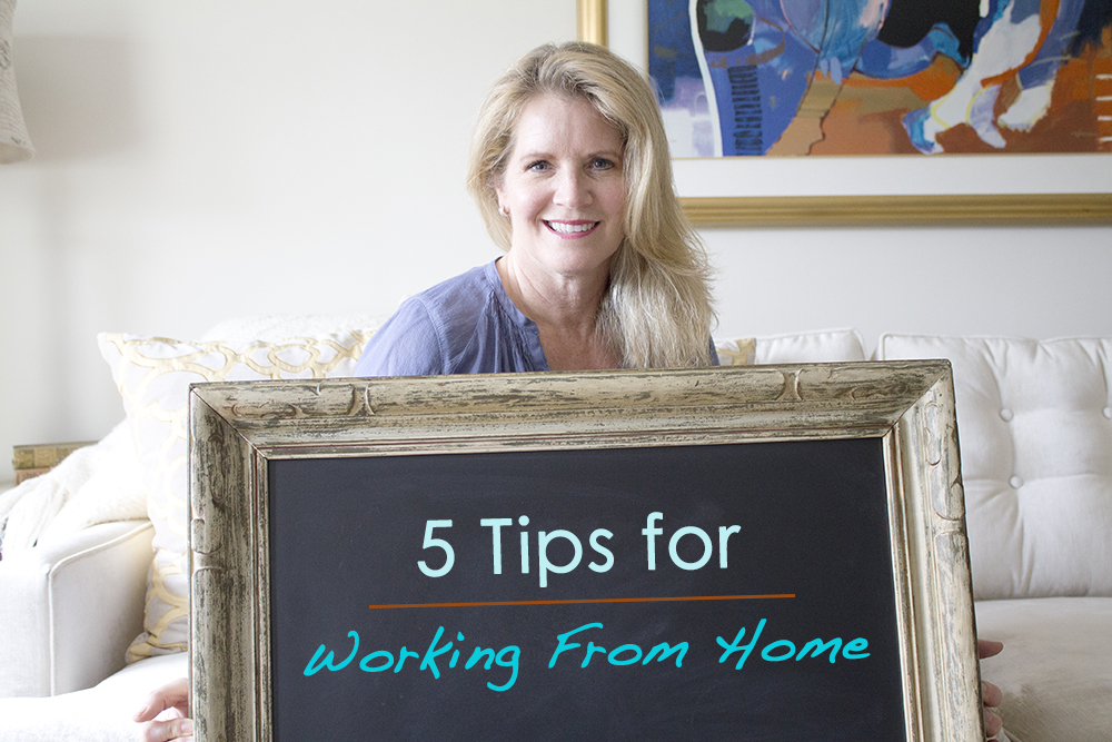 5 tips for working from home!