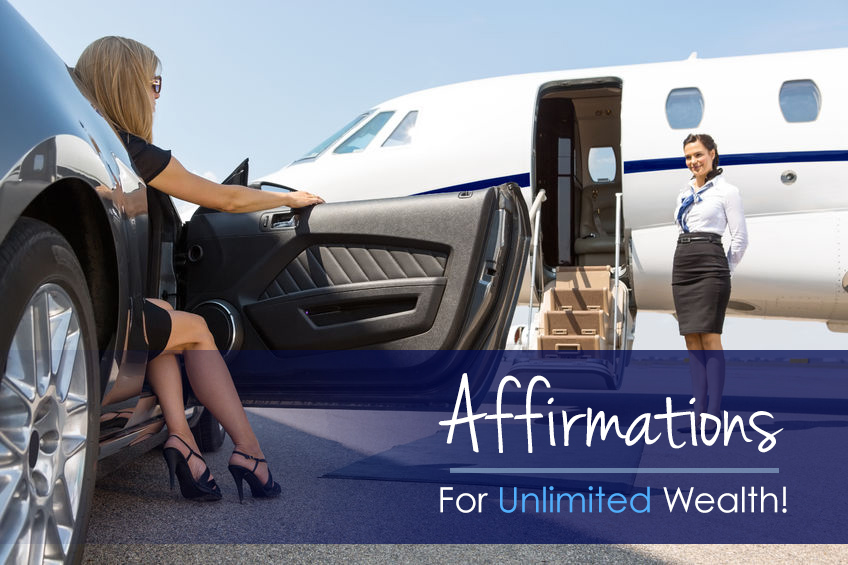 Affirmations for Unlimited Wealth