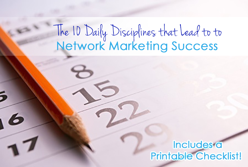 10 Daily Disciplines